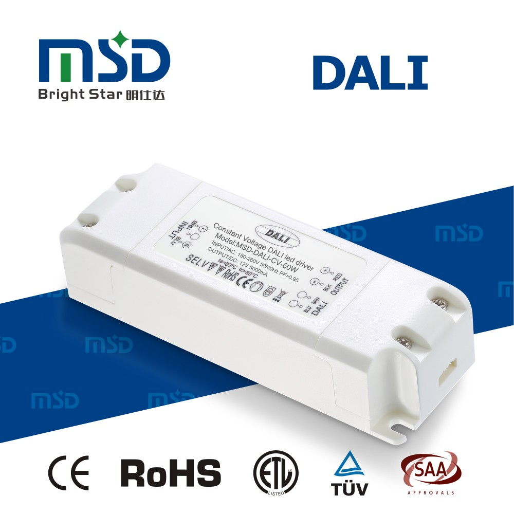 power supply 12v dc led dimmable driver 60w 24v 48v constant voltage