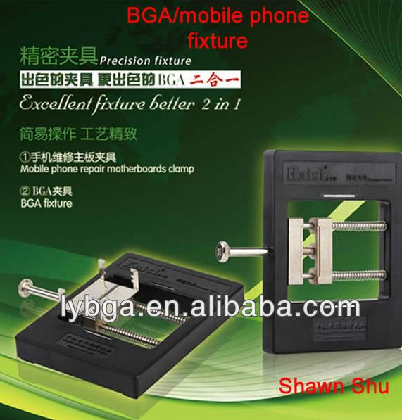 Latest Mobile phone/BGA Fixture, Motherboards Clamp, Motherboard Jig for Cell Phone Repairing Kaisi KS-1200