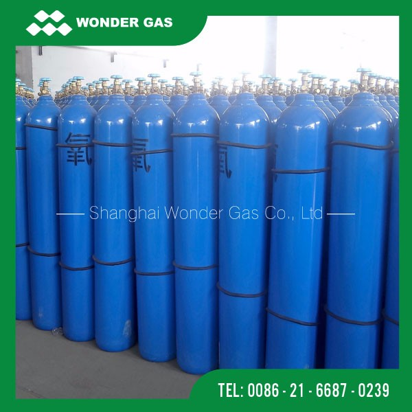 40L Popular Style Oxygen Gas Cylinder Used For Medical