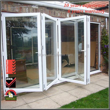 Veranda Bifold Doors Soundproof Bifolds Sliding Thermal Break Bi Folding Bi Fold Doors Custom Vertical Bifold Garage Doors