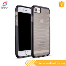 Factory price double color dot pattern airbag shockproof case for iphone 5 6 6plus 7 7plus