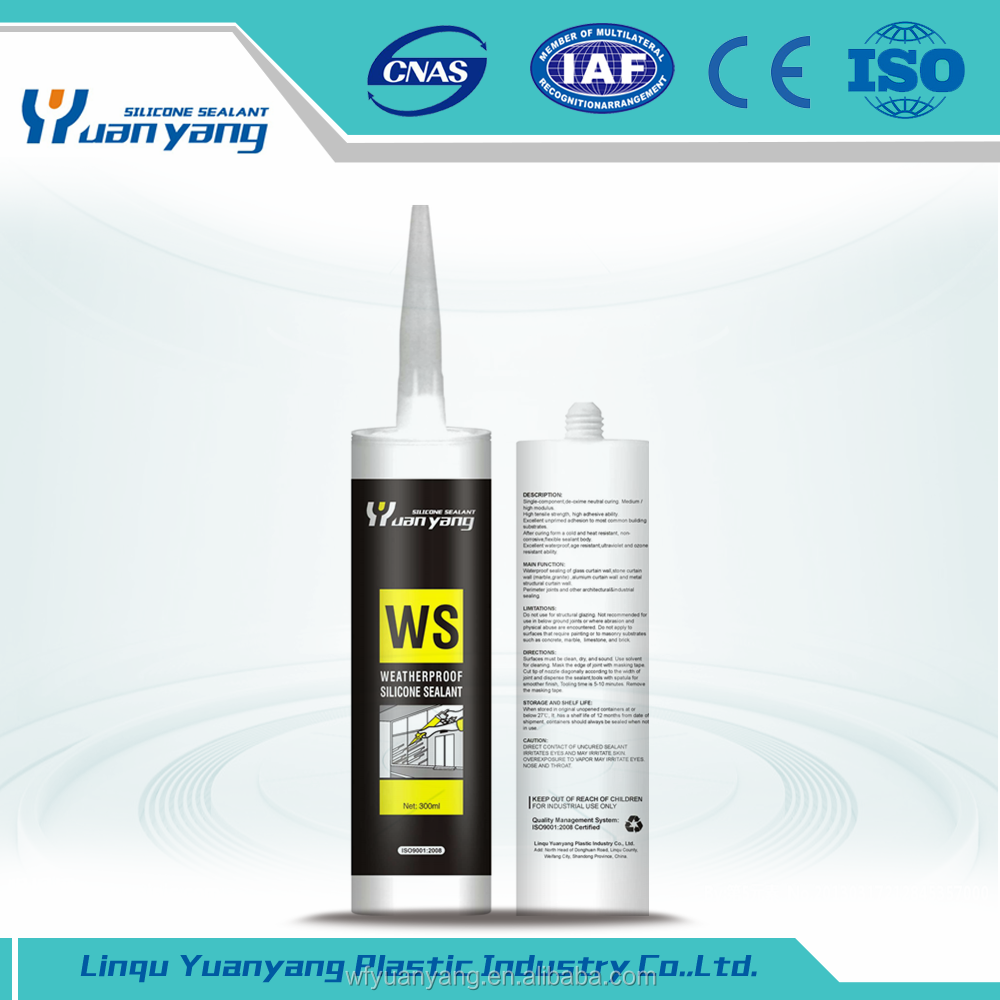 Factory Price construction usage rtv silicon sealant waterproof silicone sealant