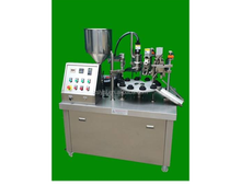 pharmaceutical GMP standard ointment semi-auto filling and packing machine