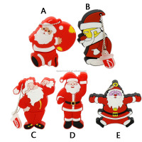 Hot sale usb flash pendrive 64gb flash drive 32g16g8g4g Santa Claus Series flash card Christmas gifts memoria usb free shipping