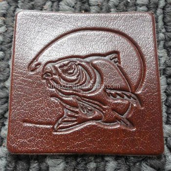 High Quality Leather Label With Customized Design