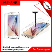 9h 2.5d otao curved tempered glass screen protector for samsung galaxy s6 mobile phone