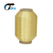 MS type metallic yarn real gold thread for emboridery
