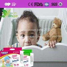 Private lable grade A baby diaper manufacturer