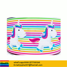 3inch Rainbow Unicorn Grosgrain Ribbon 20000designs in stock ALRB466