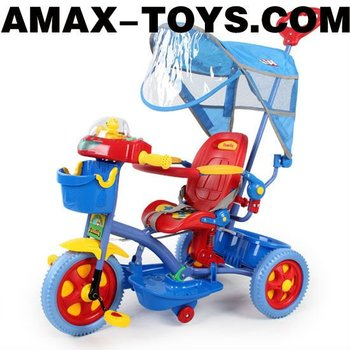 bt-1025959 Hot selling multifunctional 2 in 1 ride on tricycle and baby stroller