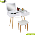 Makeup table set with stool for art effect
