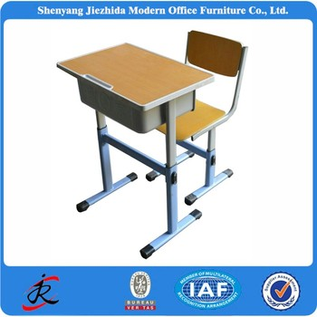 primary middle high school classroom student tables kids adjustable cheap used school desk chair for sale