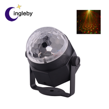 Decorative beautiful effect car ceiling light sound active RGB mini led ball light