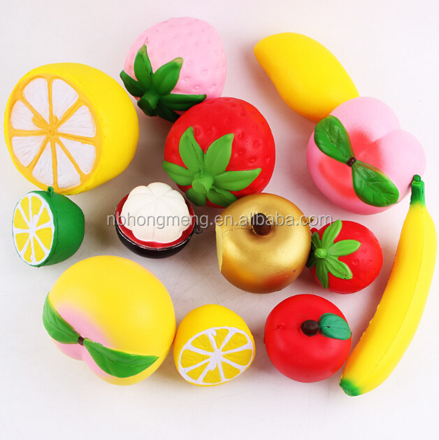 Amazon hot selling kids <strong>toys</strong> slow rising new trend fruit sets squishy