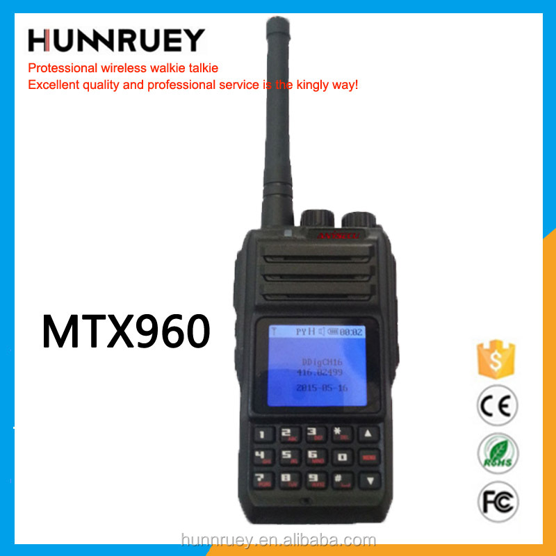 Long range walkie talkie Handheld Digital MTX960