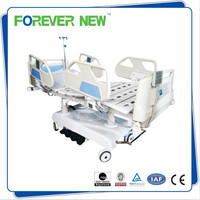 YXZ-C701 CE ICU Fully side to side tilting vibrated 7 function bed