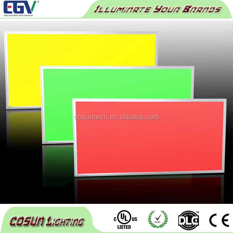 Factory price dimmable RGB list 48w led ceiling panel lights 1200x600 recessed troffer fixtures