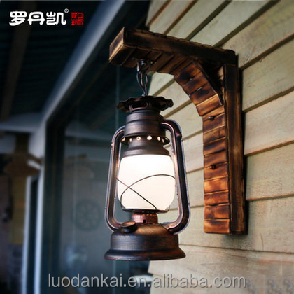 Chinese hot pot shop decorations personalized clothing store wall lamp