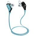 Wallytech Sport Wireless Bluetooth 4.0 Headset Headphone Earbuds. Premium wireless Earbud Headphones with built in Microphone