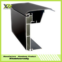 Black anodized aluminum screen extrusion profiles,6061,6063