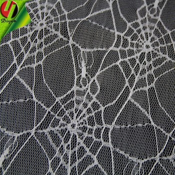 halloween supplies 100 polyester lace fabric cobweb - Halloween Lace Fabric