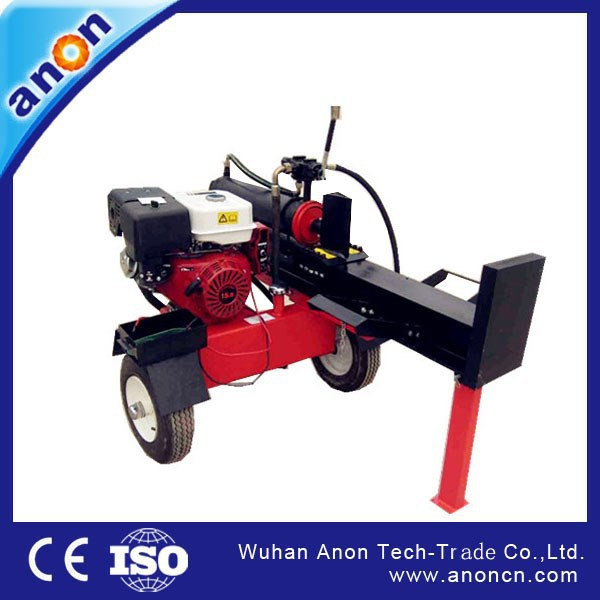 ANON ANLS Series Farm Using Vertical or horizontal gas wood splitting machine hot sale