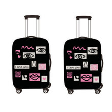 Fashion elasticity polyester protective durable luggage cover protector