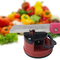 Professional Chef Pad Kitchen Sharpening Tool Knife Sharpener Scissors Grinder Secure Suction sharpener for knives