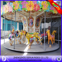 2015 NEW PRODUCTS PROMOTIONS Amusement Park Carousel Horse for Sale