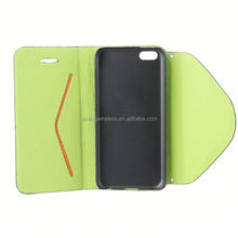 2014 New Arrival Fashion leather case for iphone 5c flip cover for iphone 5c