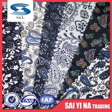 100 polyester stock dyeing denim pocket lining dyed fabric