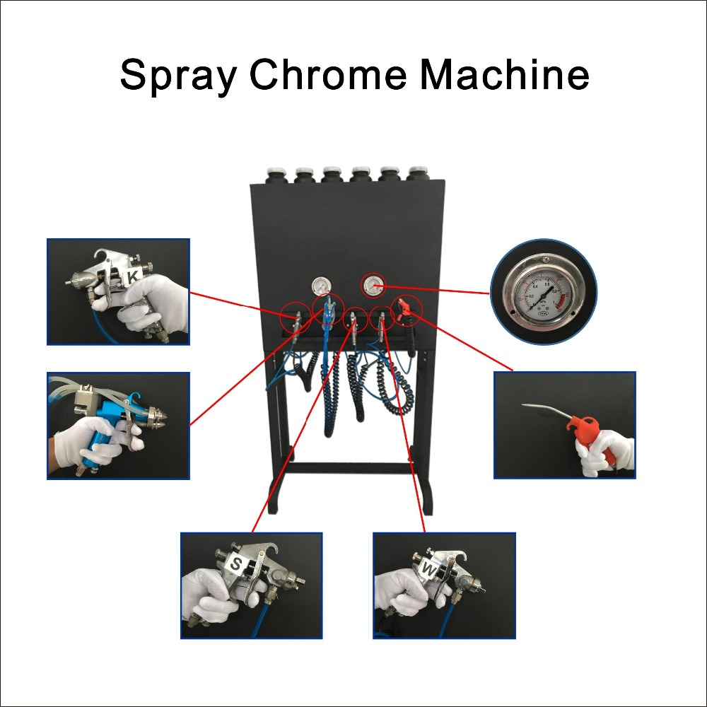 car painting chrome spray paint machine NO. LYH-CPSM106