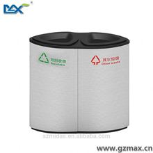 stationary vacume ,dustbin with dot logo ,dustbins for schools