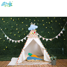 120cm*120cm*130cm kids play indian teepee tent house