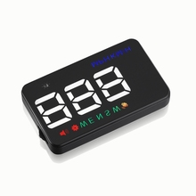 New Stand Up HUD Bright Led Projector GPS Digital Speedometer A5