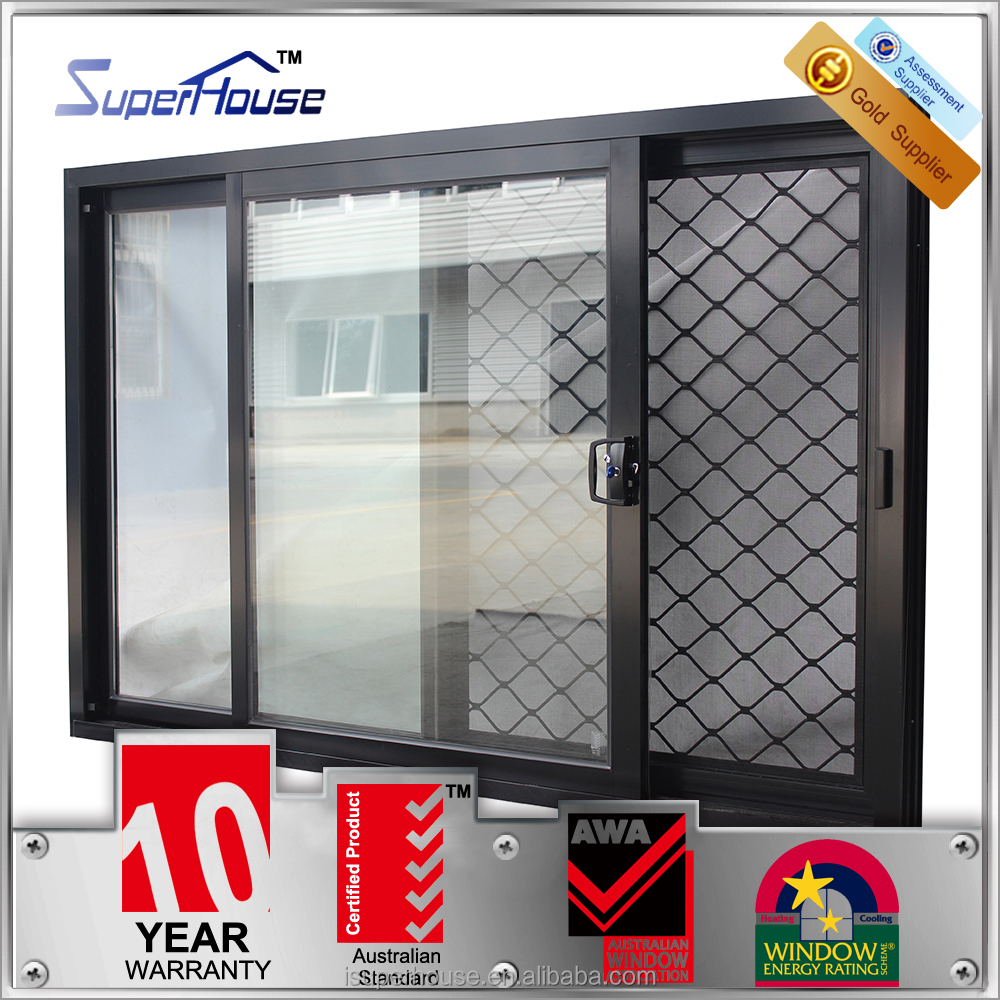 Australia standard double glass top 10 window for Window manufacturers