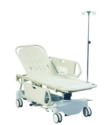 Manual Single-Crank Emergency Hydraulic Ambulance Stretcher With ABS Frame