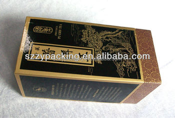 Luxury Exquisite Tea Package Box Wholesale in China