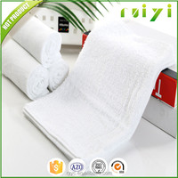professional made best price 100% cotton plain white salon and spa towels