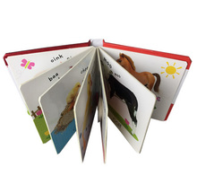 High Quality Carton Cardboard Children Book Printing Factory OEM