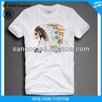 Hot Sale Customized Crewneck Tshirt With Own Logo