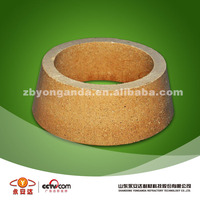 round sleeve fire clay brick used in furnace