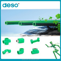 China 2016 New Products PN10-PN25 PPR Types Of Plastic Water Pipe