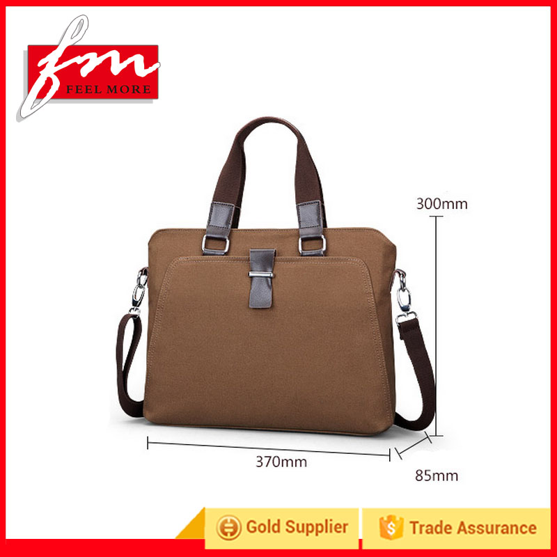 Fashion small briefcases,Canvas bags for men wholesale