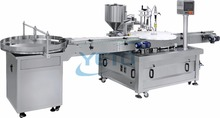 automatic paste filling machine small bottle filling and capping machine for face cream,eyes drops,nail polish