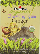 Energy ginger xylitol chewing gum