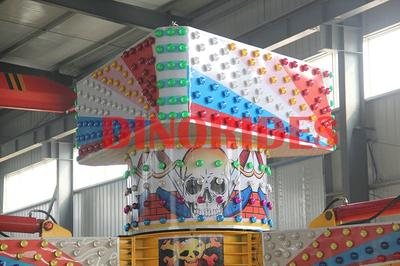 Rotating rides equipment energy storm for sale, outdoor amusement park major rides energy claw