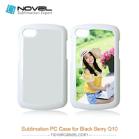 2015 Factory Wholesale Sublimation cell Phone Housing For Black Berry Q10