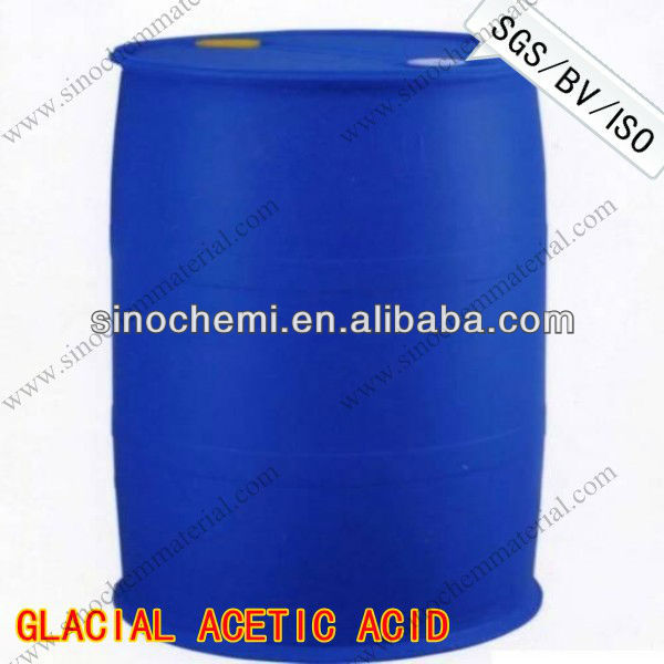 CAS No 64-19-7 leather and textile chemicals acetic acid glacial