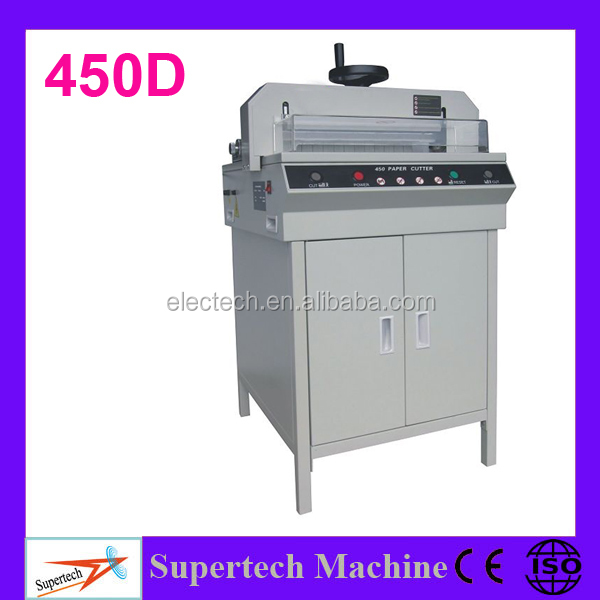 450D Paper Trimmer Machine Guillotine Used Paper Cutter For Sale